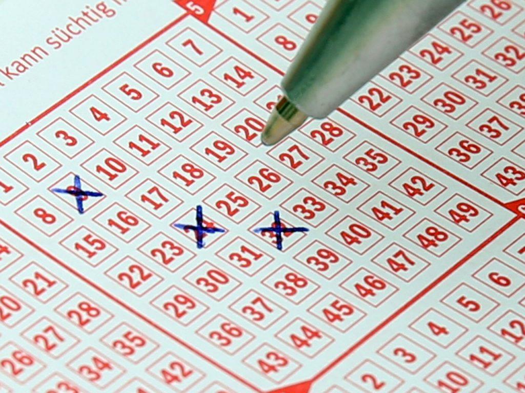 lotto, lottery ticket, bill